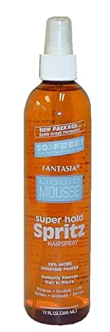 Fantasia Super Stiff Spritz Blue 12 oz. # Fa501225