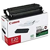 Canon E20 Toner Cartridge (1492A002AA, 1492A002), 3000 Yield, Black