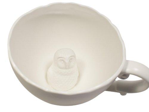 imm Living DC069-Owl Hidden Owl Teacup (Microwaveable Tea Cup compare prices)
