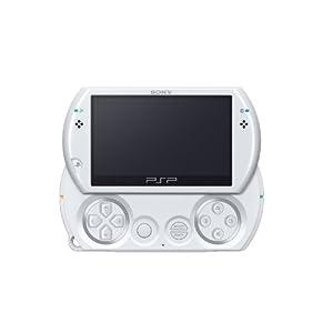 PSP go「プレイステーション・ポータブル go」 パール・ホワイト(PSP-N1000PW)