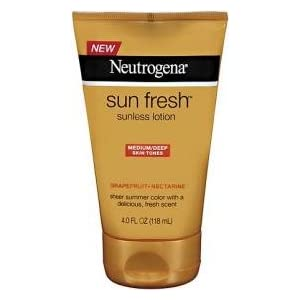Neutrogena Sun Fresh Lotion Medium/Deep 4 fl oz (118 ml)