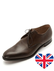 Best of British Leather Almond Toe Gibson Shoes
