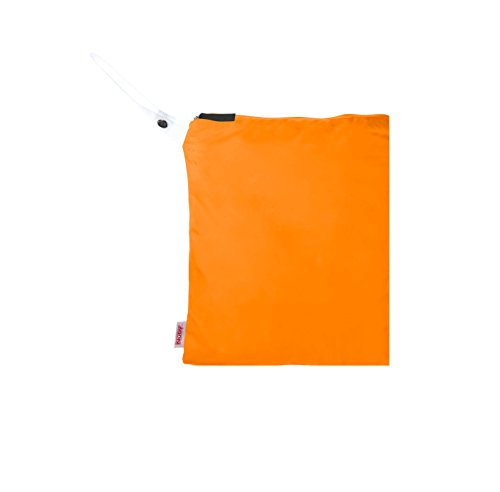 NUBY Washable Wet Bag, Orange - 1