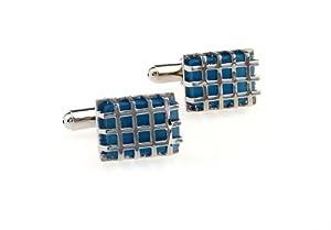 Blue Gemstone Manschettenkn?pfe Elegante Herren Manschettenkn?pfe