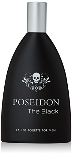 Posseidon Acqua di Profumo, Poseidon The Black Men Edt Vapo, 150 ml