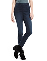 Indigo Collection Super Stretch Denim Jeggings
