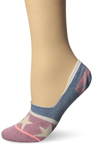 Stance Women's Firework Super Invisible Low Cut Liner Sock, Blue, Medium (Invisible Sock Liner compare prices)