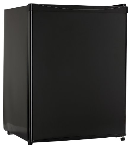 Sanyo SR-A2480K 2-2/5-Cubic-Foot Compact Mid-Size Refrigerator, Black