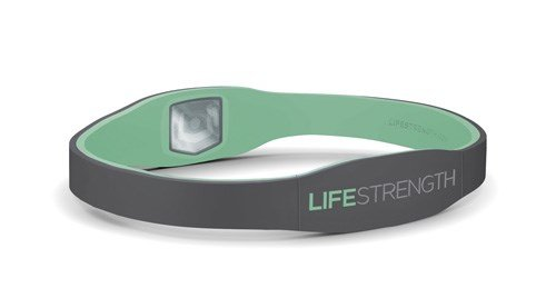 Lifestrength Armband X-Small Gray / Mint 6-3/8