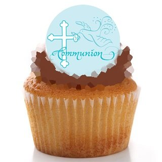 first-holy-communion-boy-blue-dove-cross-sacrament-religious-religion-edible-image-wafer-paper-cake-