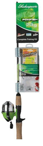 Shakespeare Rod and 6 Size Reel Combo 11 (4-Feet, 6-Inch)