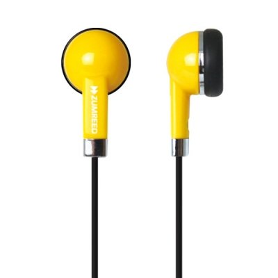 Zoom Lead Earphones Zhp-019 Ye (Yellow)