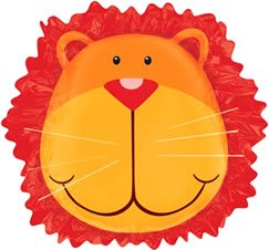 Jungle Animals Lion Head 24