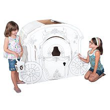Corrugated Cardboard Princess Carriage