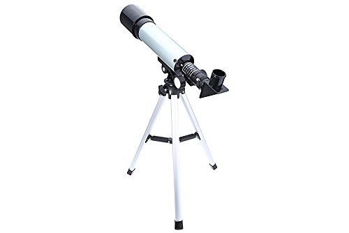 YISI F36050M Portable Astronomical Landscape Lens Single-tube 90 degrees Telescope with Tripod for Kids/Beginners