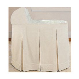 Ric Rac Bassinet Set - Color Ecru