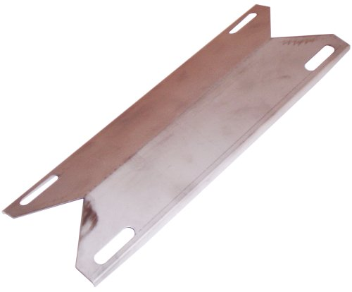 Music City Metals 94391 Stainless Steel Heat Plate Replacement for Gas Grill Models Kirkland 720-0439 and Sams Members Mark 720-0582B