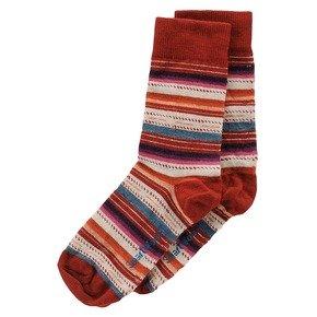 Smartwool Women's Margarita Sock, Crimson size M(shoe size 7-9.5)