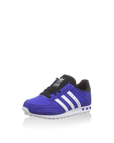 adidas Zapatillas La Trainer Kid Azul / Blanco