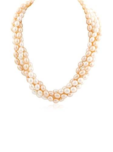 Splendid Pearl Cultured Pearl Torsade Necklace