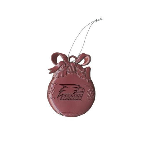 Georgia Southern Bulb Pink Pewter Ornament 'Georgia Southern w/ Eagle Head Engraved' at Amazon.com