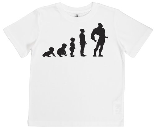 Phunky Buddha - Evolution To A Superhero Ii Toddler Top 3-4 Yrs - White front-742024