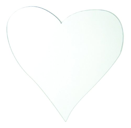 RoomMates MIR0005HRL Heart Peel & Stick Mirror