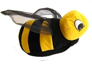 Hot PETS, Bee. Stuffed animal. Fair Trade, Natural. Handmade by micro-sensations