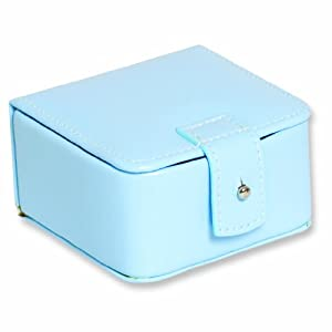 Baby Blue Mini Jewelry Case