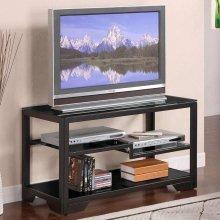 Cheap 38 Black Rectangular TV Stand — Powell 359-781″ (B00592HZDY)