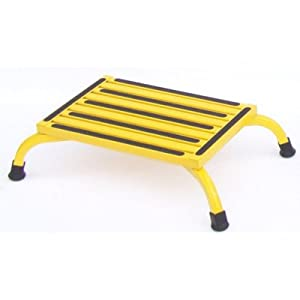 Amazon Com Safety Bariatric Low Step Stool Color Yellow