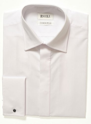 Rocola Plain Front Dress Shirt - 18.5