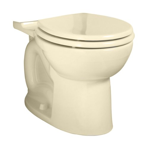 American Standard 3717B001.021 Cadet 3 Flowise Right Height Round Front Toilet Bowl Only In Bone front-751684