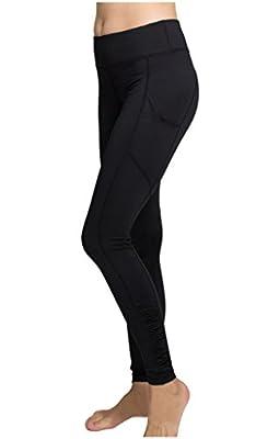 Lotus Instyle Frauen Taschen Side Yoga Hosen Modo Laufhose Workout Strumpfhosen Leggings