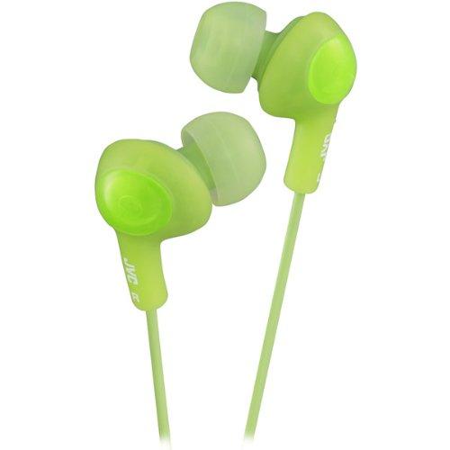 Brand New Jvc Gumy Plus In-Ear Headphones-Green