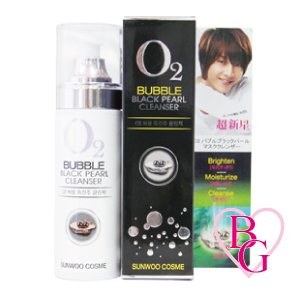 O2 BUBBLE BLACK PEARL CLEANSER