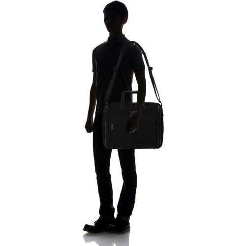 [ワールドトラベラー] World Traveler ワールドトラベラー バルカン ビジネスバッグ 43508 01 (ブラック)