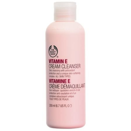Body Shop Vitamin E Cream Cleanser