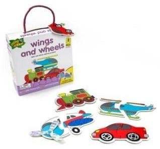 Chimp and Zee Wings and Wheels Puzzle