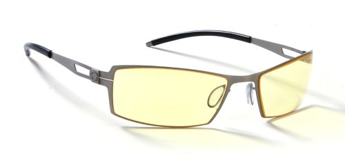 Gunnar Optiks G005-C009 Catalyst Metal SheaDog Digital Performance Eyewear with i-AMP Lens Technology (Fire)