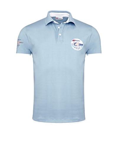 Nebulus Poloshirt Ocean Blue