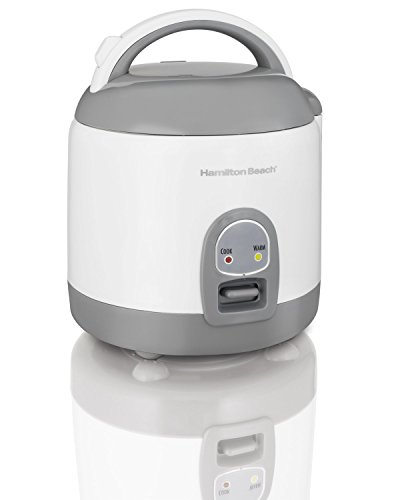 Hamilton Beach Rice Cooker with Rinser/Steam Basket (4 Cups uncooked resulting in 8 Cups cooked) 37508 (Rice Cooker 8 Cup Uncooked compare prices)