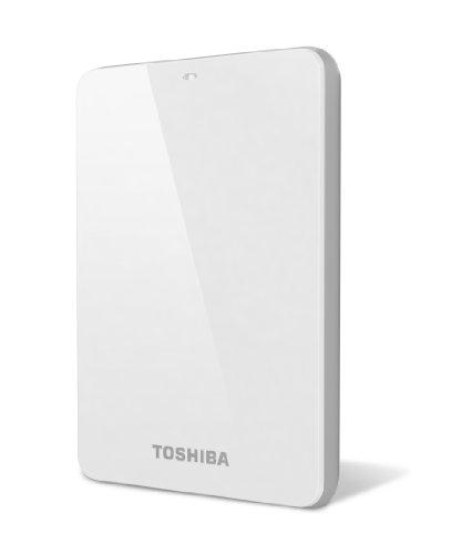Toshiba Canvio 1.0 TB USB 3.0 Portable Hard Drive - HDTC610XW3B1 (White)