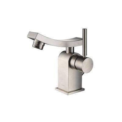 Kraus KEF-14301BN Unicus Single Lever Basin Faucet, Brushed Nickel