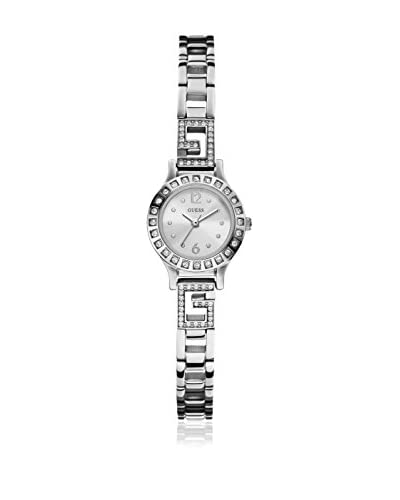 Guess Quarzuhr Woman silberfarben 20.5 mm