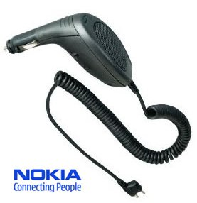 Nokia PPH-1 Handsfree Car Auto Charger Kit with Built-in Speaker for Nokia 1100, 2300, 2100, 3315, 3650, 3530, 3510,