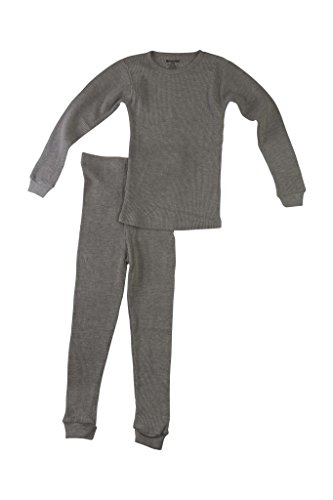Better Wear Boys Thermal Underwear Set 5/6 Gray