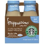 Starbucks Frappuccino Mocha Light Coffee Drink, 9.5 oz, 4pk(Case of 2) морис дрюон яд и корона