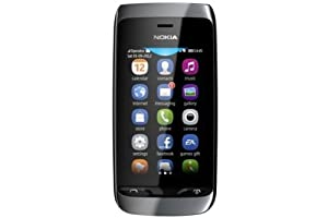 Nokia Asha 308 Dual Sim, Nero