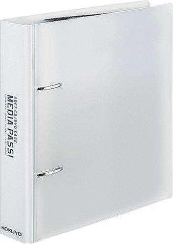 コクヨS&T CD/DVD用ファイル MEDIA PASS トールサイズ クリア EDF-DME10T